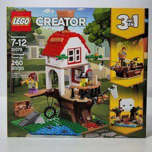 LEGO CREATOR 31078 Treehouse Treasures NEW